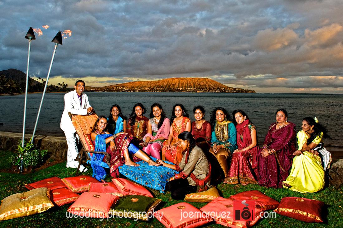 Destination Indian Wedding At Royal Hawaiian Waikiki Honolulu Hawaii